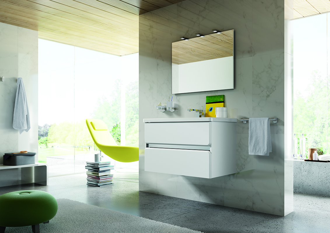 Tendance meuble salle de bain 2015 avec plus de clarté ...